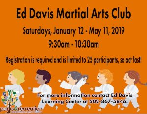 Ed Davis Martial Arts Club The Pavilion Georgetown KY