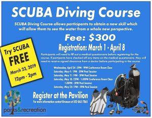 Scuba Diving Course Pavilion Georgetown KY