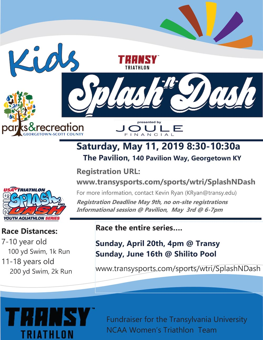 Transy Splash N Dash 2019